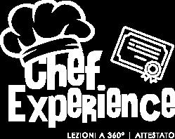Chef Experience Attestato